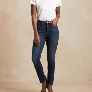 Banana Republic high waist Skinny Jeans